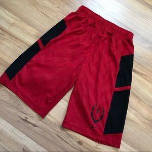 Juniors Red & Black Nike Elite Shorts!